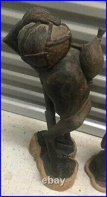 1973 Makonde Wood Statue / Carving Kenyan African Fine Art with Provenance