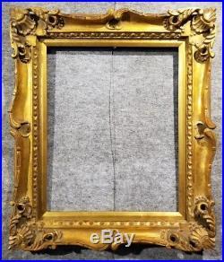 4 Gold VINTAGE ANTIQUE FINE HAND-CARVED PICTURE FRAME Frames4art 1178G 16x20