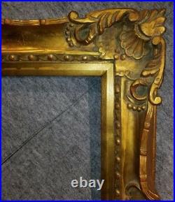 4 Gold VINTAGE ANTIQUE FINE HAND-CARVED PICTURE FRAME Frames4art 1178G 18x24