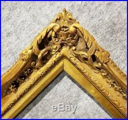 4 Gold VINTAGE ANTIQUE FINE HAND-CARVED PICTURE FRAME Frames4art 1406G 16x20