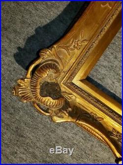 4 Gold VINTAGE ANTIQUE FINE HAND-CARVED PICTURE FRAME Frames4art 1803G 16x20