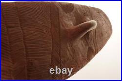 ABORIGINAL SHIELD FINE CARVING LAGRANGE Shield W AUST 2