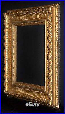 A Fine Quality C18th Carved Giltwood Picture Frame. Sight Size. 16 x 13 3/4
