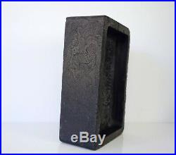 A Finely Carved'Dragon' Inkstone
