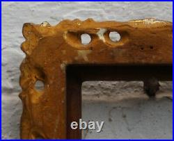 A Very Finely Carved C19th Florentine Picture Frame. Sight Size 2 3/4 x 2