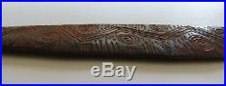 Aboriginal Fine Old Carved Hairpin. West Australia