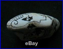 Ancient Pre-Columbian Ojuelos de Jalisco Fine Carving Artifact