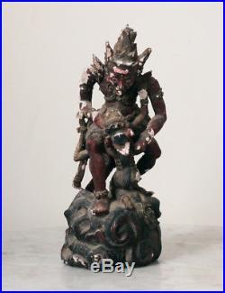 Antique BALI figure, Hanuman, fine carving, very old piece