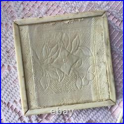 Antique Chinese Puzzle Box Fine Hand Carved Bovine Bone C1800