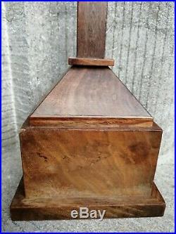 Antique Church Altar Standing Cross Crucifix Fine Hand Carved Jesus Corpus
