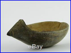 Antique Early Finely Carved PNG Papua New Guinea Coconut Shell LAYBY AVA