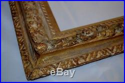 Extremely Fine Carved & Gilt Impressionist Painting Frame Stunning French Look