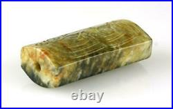 Extremely Fine Chinese Shang Dynasty Jade Toggle