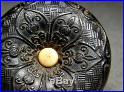 FINE Carving MANJU NETSUKE 18-19thC Japanese Edo Antique for Inro