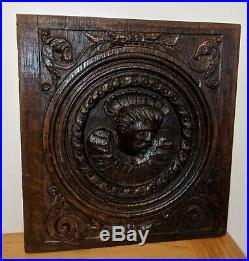 Fine 16th Century Henry VIII Carved Oak Coffer Panel c1540