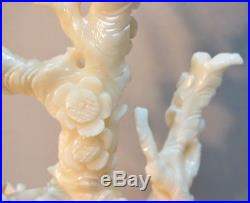 Fine 7 QING DYNASTY CHINESE CARVED CORAL Sculpture of Rodents c. 1890 antique