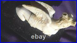 Fine Antique 17th Century Bovine Carved Figure of a Chimera Museum Authenticated