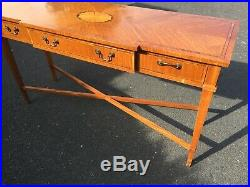 Fine Console Side Table with drawers for Hallway or Living Dining Room Antique