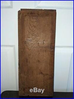 Fine Elizabethan Carved Oak English Panel c1600