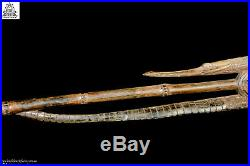Fine Intricately Carved Walking Stick, M. Sepik, PNG, Papua New Guinea, Oceanic