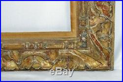 Fine Lowy Carved & Gilt Painting Picture Frame Vintage Italian Renaissance Style