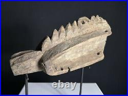 Fine Old Carved Canoe Prow, Murik Lakes, PNG, Papua New Guinea, Oceanic