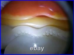 Fine Old Hand-Carved Red Skin Hetian Jade Statue