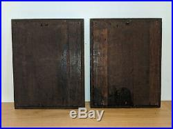Fine Pair Of Early 16th Century Carved Oak English Tudor Panels c1530