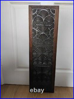Fine Rare 17th Century Chip Carved Walnut Panel