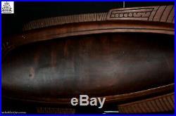 Fine Vintage Carved Massim Fish Bowl, Trobriand Islands, Papua New Guinea, PNG
