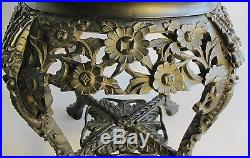 Finely Carved 19th C. Antique Chinese Hand-Carved Pedestal Stand c. 1900