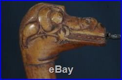 Finely Carved Tool for Tattoo Bahau Borneo Indonesia 1980 ca