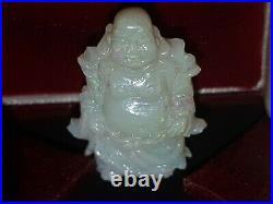 Opal Buddha natural australian opal antique fine carving12.5cts. 1