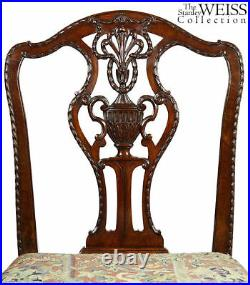 SWC-Fine Sheraton Carved Side Chair, England, c. 1790