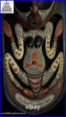 Stunning Fine Artistic Angoram Spirit Carving, Lwr Sepik, Papua New Guinea, PNG