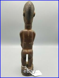 V Fine Yoruba Carved Wooden Ibeji Twin Figure Nigerian African From Nyc Gallery