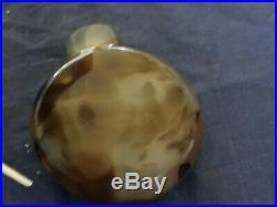 Very Fine Antique Chinese Carved Agate Snuff Bottle